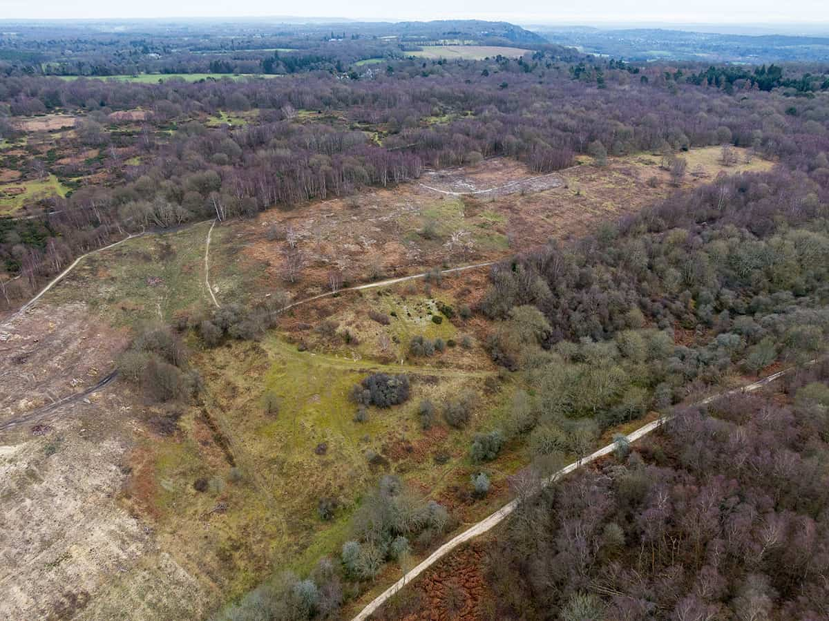 headley heath drone footage